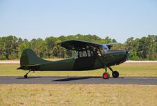Vintage Cessna Airplane Royalty Free Stock Image