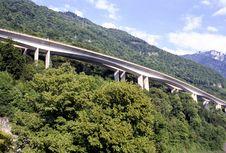 Free Mountain Highway Stock Image - 2135751