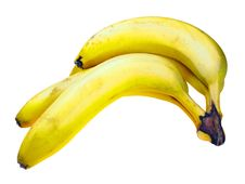Free Banana Bundle Stock Photo - 2135850