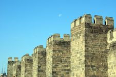 Free Moon And Castle Royalty Free Stock Photos - 2137908