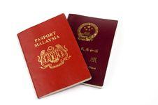 Free China And Malaysia Passport Stock Images - 2137974
