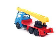 Free Plastic Bedford Crane Truck 2 Stock Images - 2138354