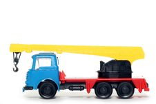 Free Plastic Bedford Crane Truck 3 Royalty Free Stock Images - 2138399