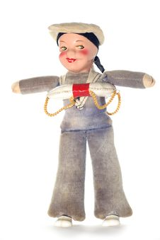 Free Old Sailor Cloth Doll Stock Photos - 2138543