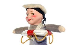 Free Old Sailor Cloth Doll 2 Stock Photo - 2138570