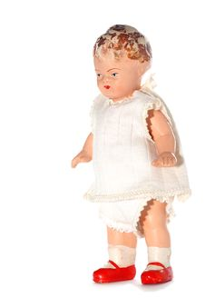 Free Old Abused Child Doll 2 Stock Image - 2138581