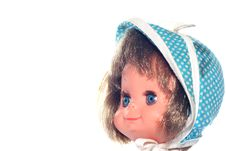 Free Happy Girl Doll Head Stock Images - 2138654