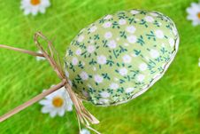 Free Colored Easter Egg Royalty Free Stock Photo - 2138855