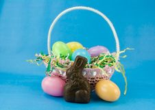 Free Easter Basket Royalty Free Stock Photo - 2138985