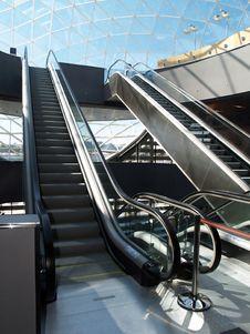 Free Escalators Stock Photo - 2139180