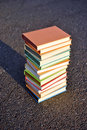 Free 12 Different Books Royalty Free Stock Image - 21302216