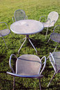 Free Metal Chairs And Table Stock Images - 21302324