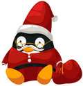 Free Santa Penguin Royalty Free Stock Photography - 21303927