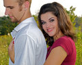 Free Young Couple In Warm Embrace Royalty Free Stock Image - 21307076