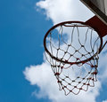 Free Basketball Basket Royalty Free Stock Photography - 21309857