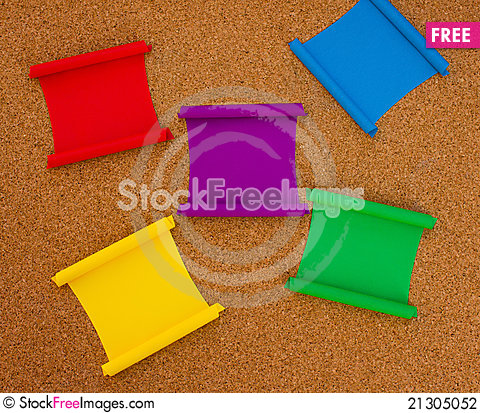 Free Cork Board Stock Photography - 21305052