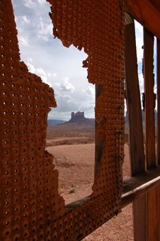 Free Slice Of Monument Valley Royalty Free Stock Images - 21301049