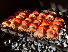 Free Meat For Barbecue Royalty Free Stock Image - 21302066