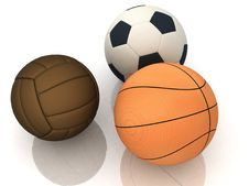 Sport Balls Stock Photos