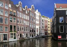 Free Amsterdam Cityscape Royalty Free Stock Photography - 21302987