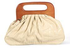 Free White Woman Bag Royalty Free Stock Image - 21303116