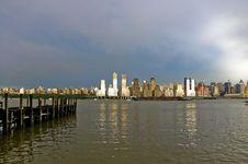 Free Hudson Pier Royalty Free Stock Image - 21303206