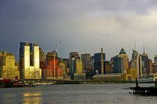 Free Manhattan Sunset Stock Photo - 21303210