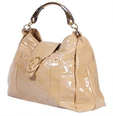 Free Gold Woman Bag Stock Photography - 21303222