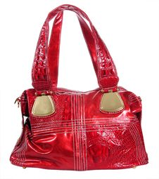 Free Red Woman Bag Royalty Free Stock Images - 21303249