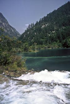 Free Jiuzhaigou National Park, China Royalty Free Stock Image - 21303286
