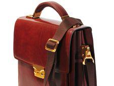 Free Brown Man Bag Stock Photography - 21303292