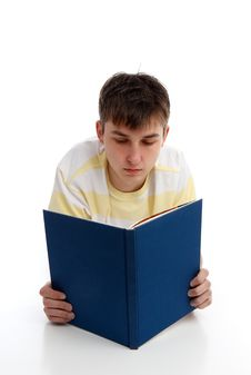 Free Boy Reading Learning Studying Royalty Free Stock Photography - 21303337