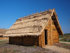 Free Early-medieval Settlement, Zmijowiska, Poland Royalty Free Stock Photos - 21303998