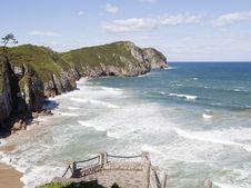 Free Beach In Asturias, Spain Stock Photo - 21304030