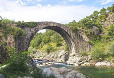Free Roman Bridge Royalty Free Stock Photo - 21304795