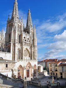 Free Burgos Cathedral, Spain Stock Photos - 21304903