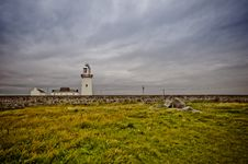 Free Ireland, Lighthouse In Loop Head Royalty Free Stock Photos - 21305408