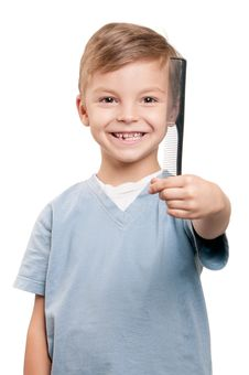 Free Boy With Comb Stock Photo - 21305430