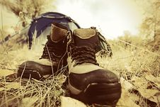 Free Boots Royalty Free Stock Photography - 21305767