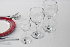 Free Tableware In Restaurant Stock Image - 21306021