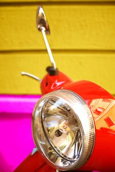 Free Moped Stock Photography - 21306042
