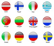 Free European Flages - Part 1 Stock Photography - 21306602