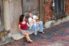 Free Couple Enjoying Time Together Royalty Free Stock Photo - 21307105
