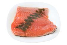 Free Salted Salmon Stock Photos - 21307123