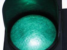 Free Green Light Royalty Free Stock Image - 21307686