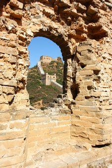Free Great Wall Of China Stock Image - 21307931