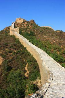 Free Great Wall Of China Royalty Free Stock Photo - 21308015