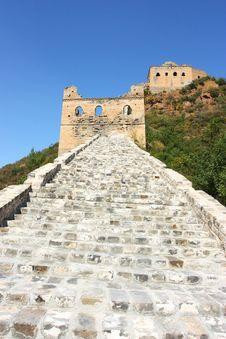 Free Great Wall Of China Royalty Free Stock Photos - 21308158