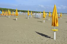 Free Yellow Beach Stock Photography - 21309052