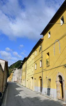 Italian Village Royalty Free Stock Photography